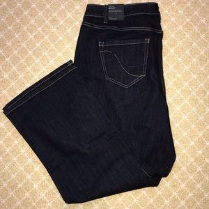 NWT Lane Bryant Bootcut Jeans Sz 20 Short